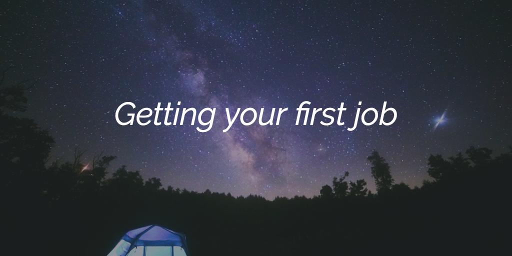 Getting your first developer job | Frontend Mayhem